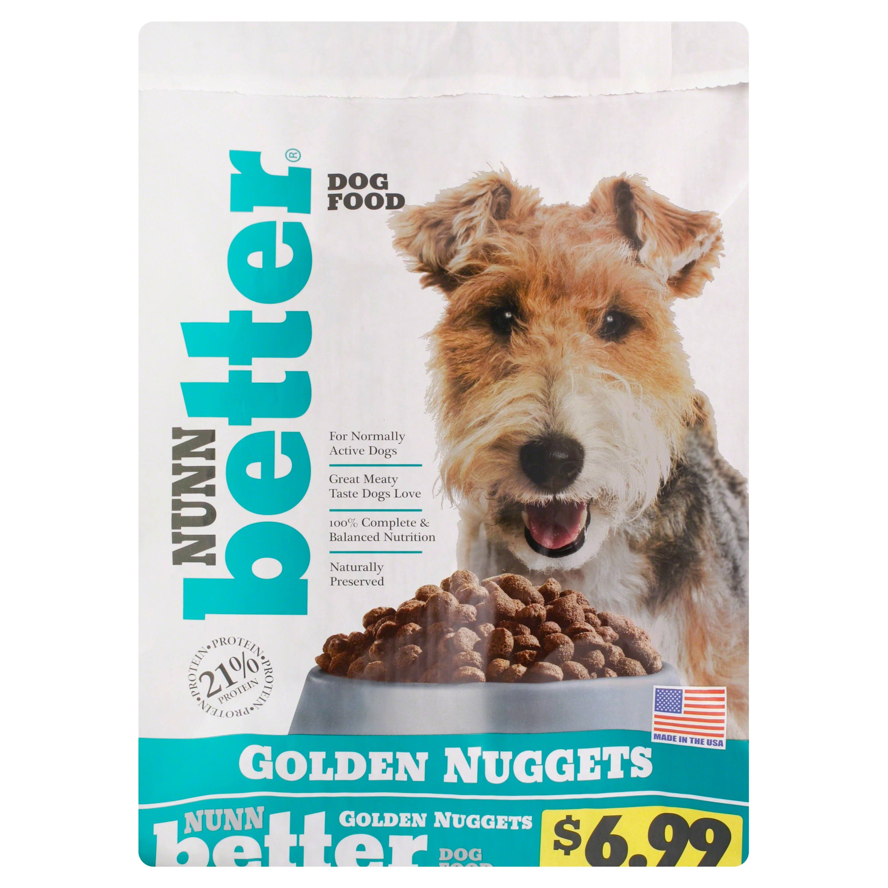 Nunn Better Dog Food, Golden Nuggets - 15 lb