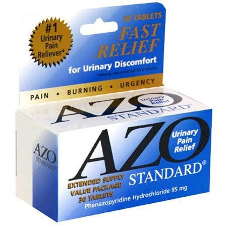 Azo Urinary Pain Relief - 30 Tablets