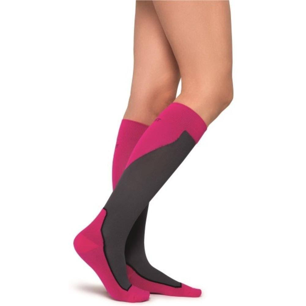 Jobst Sport 15-20 mmHg Knee High Socks Medium / Pink