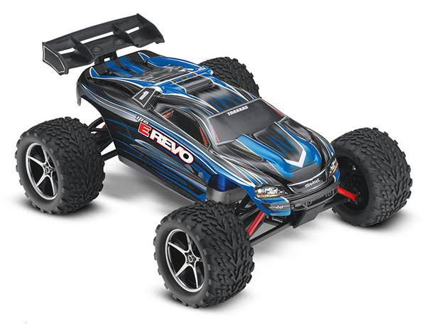 Traxxas E Revo Brushed 4WD RTR Monster Truck RC Model - Scale 1:16
