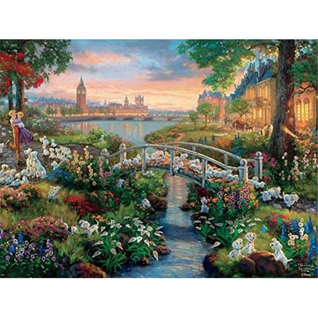 Ceaco Disney Thomas Kinkade The Dreams Collection 101 Dalmatians Jigsaw Puzzle - 750pcs