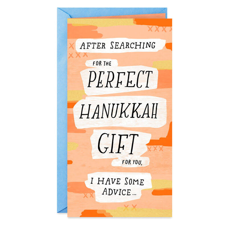 Be A Mensch Money Holder Funny Hanukkah Card