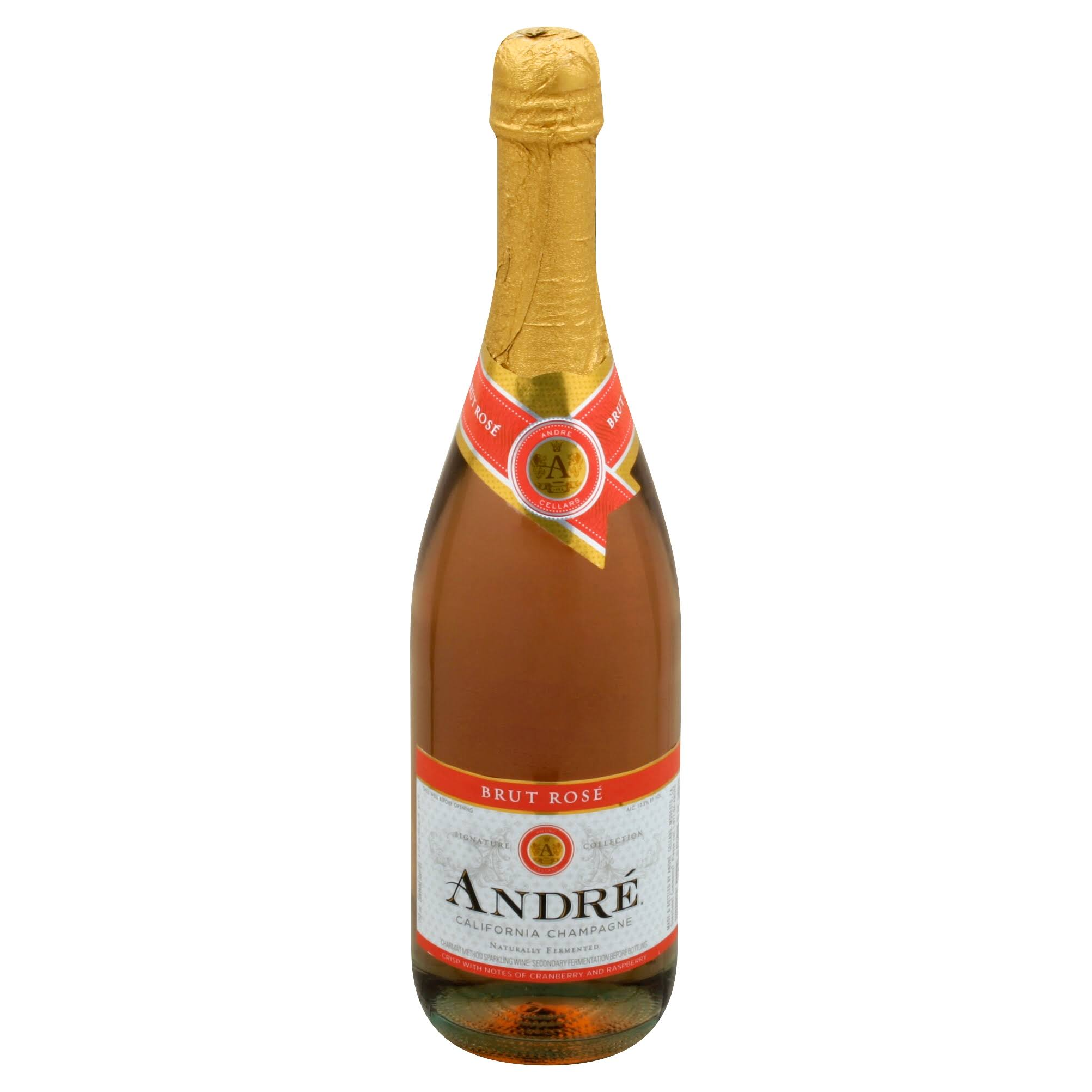 Andre Champagne, Brut Rose, California - 750 ml