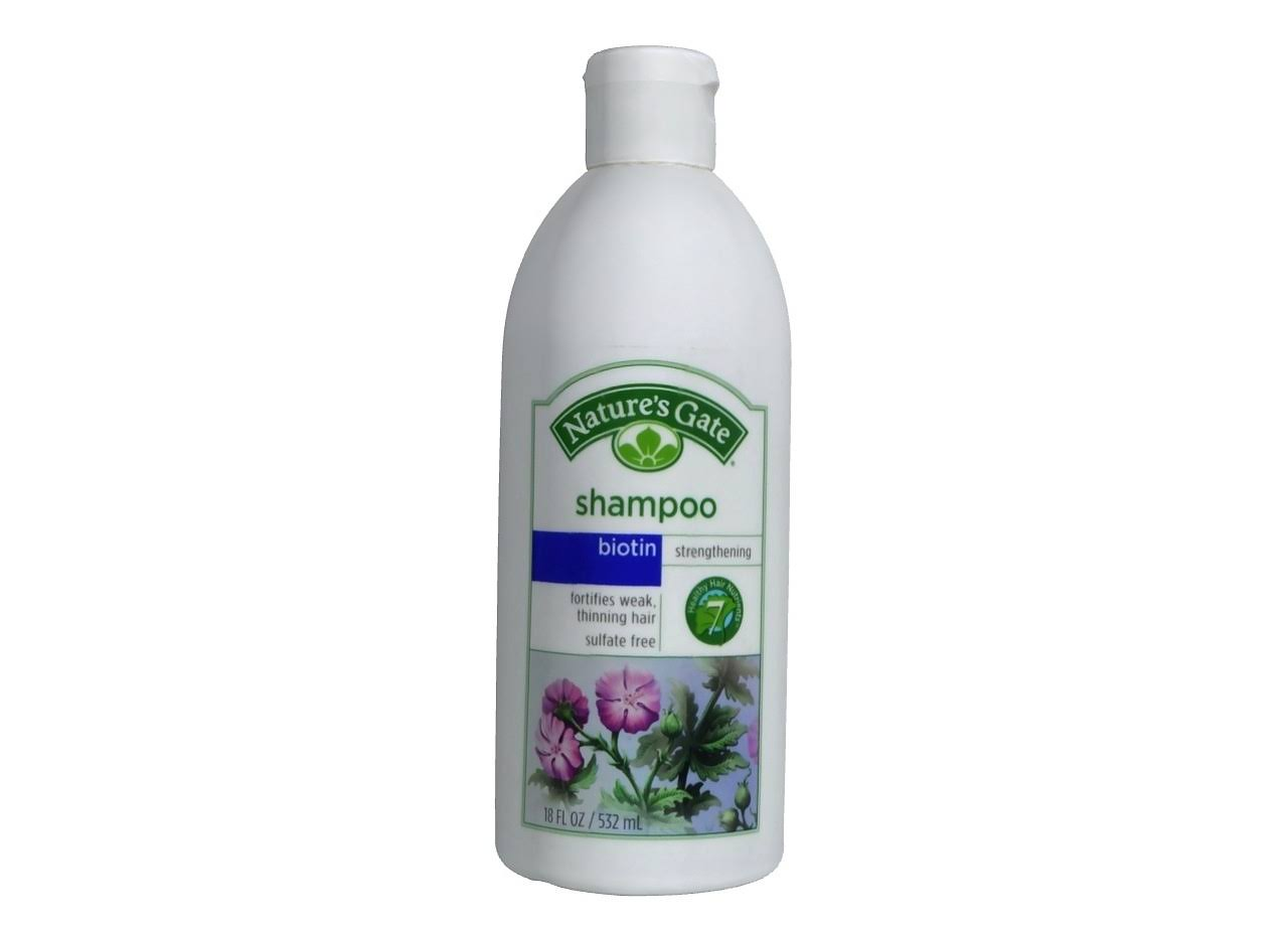 Nature's Gate Biotin Strengthening Shampoo - 18oz