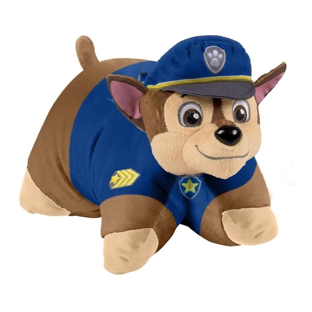 Nickelodeon Paw Patrol Chase Stuffed Animal Plush Toy - Blue
