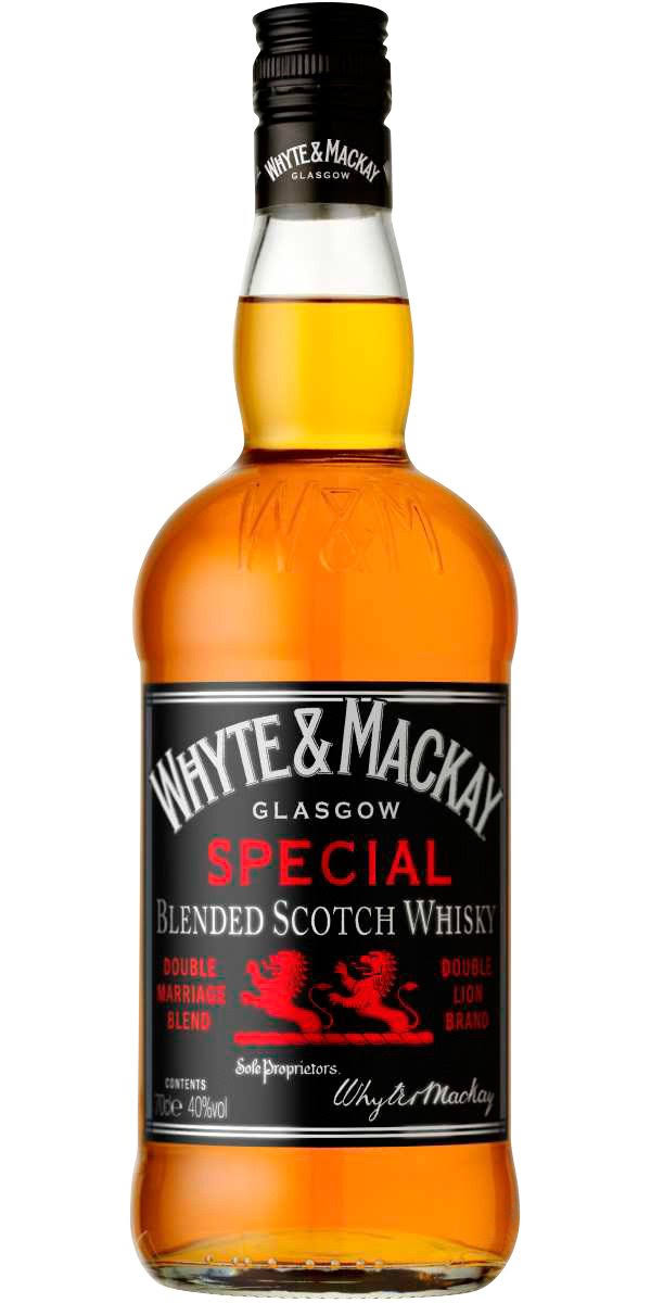 Whyte and Mackay Blended Scotch Whisky - 700ml