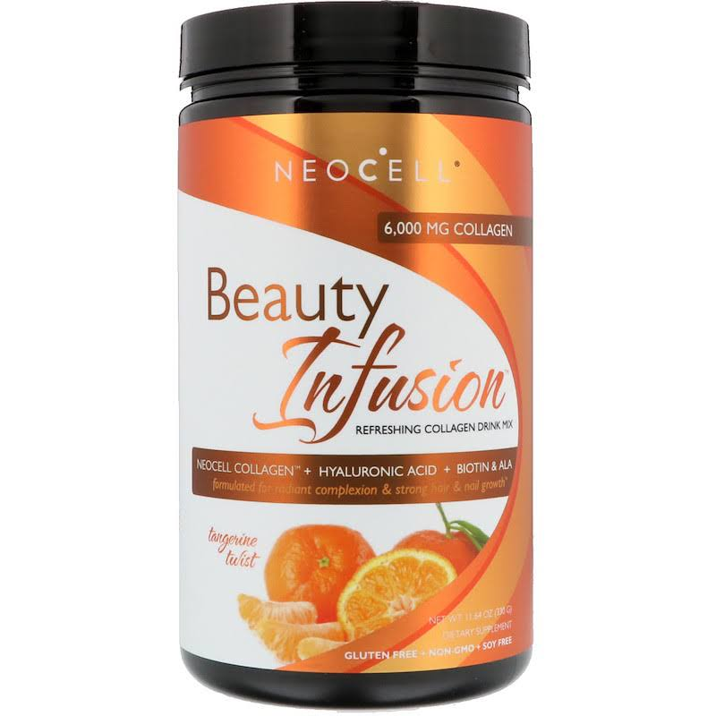 NeoCell Beauty Infusion Collagen Drink Mix - Tangerine, 330g