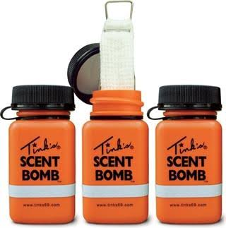 Tink's Scent Bomb Scent Dispensers - with Reflecting Strip, 3pk