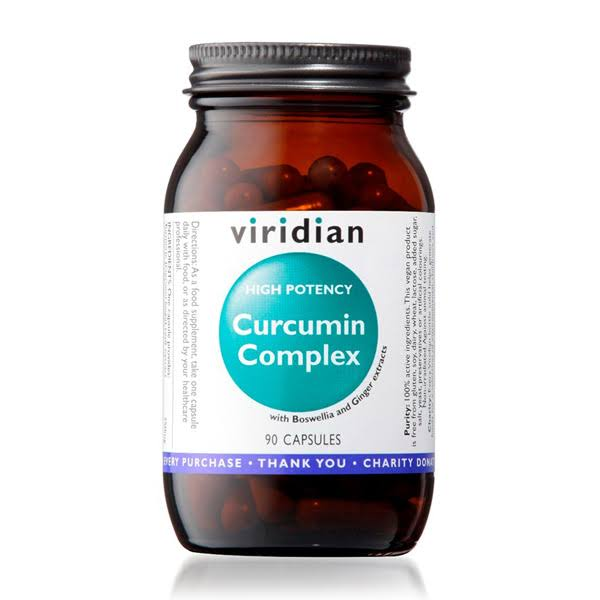 Viridian High Potency Curcumin Complex (90 caps)