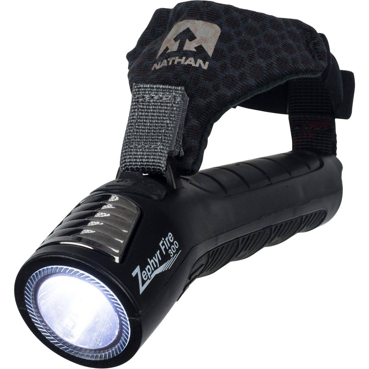 Nathan Zephyr Fire 300 Hand Torch - Black