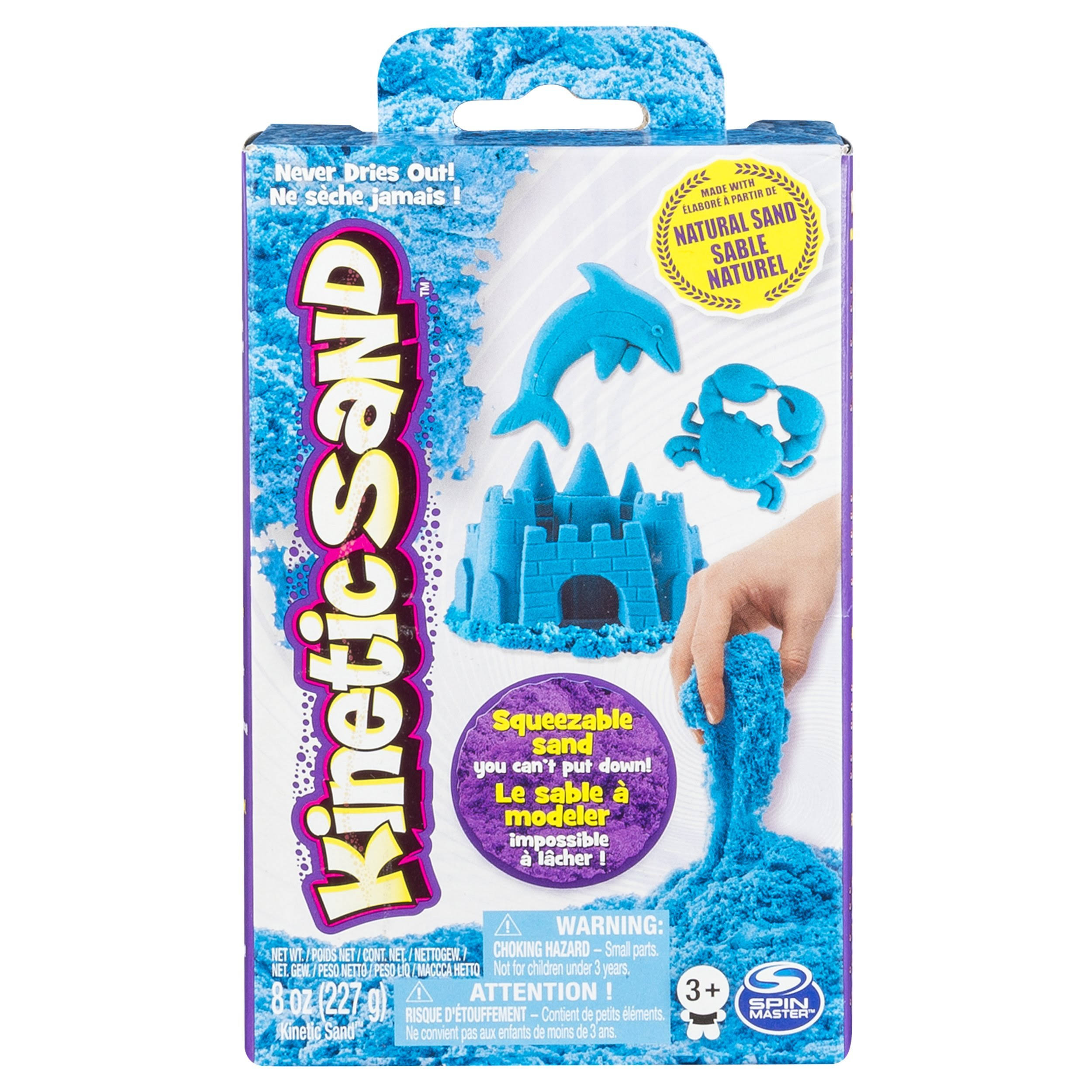 Spin Master Kinetic Sand - 227g, Blue