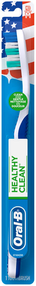 Oral-B Healthy Clean Toothbrush, Medium