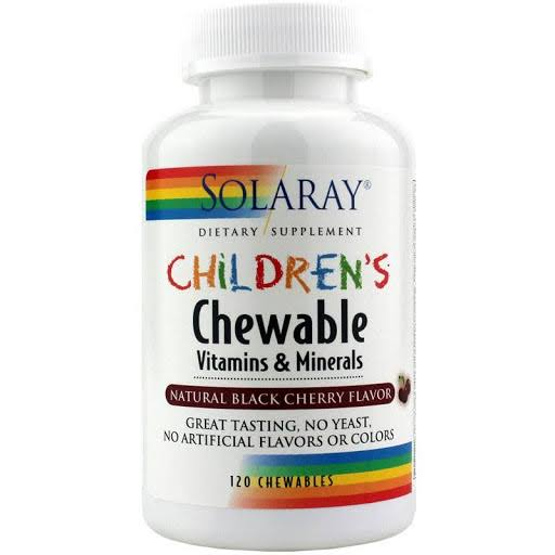 Solaray Children's Chewable Vitamins & Minerals