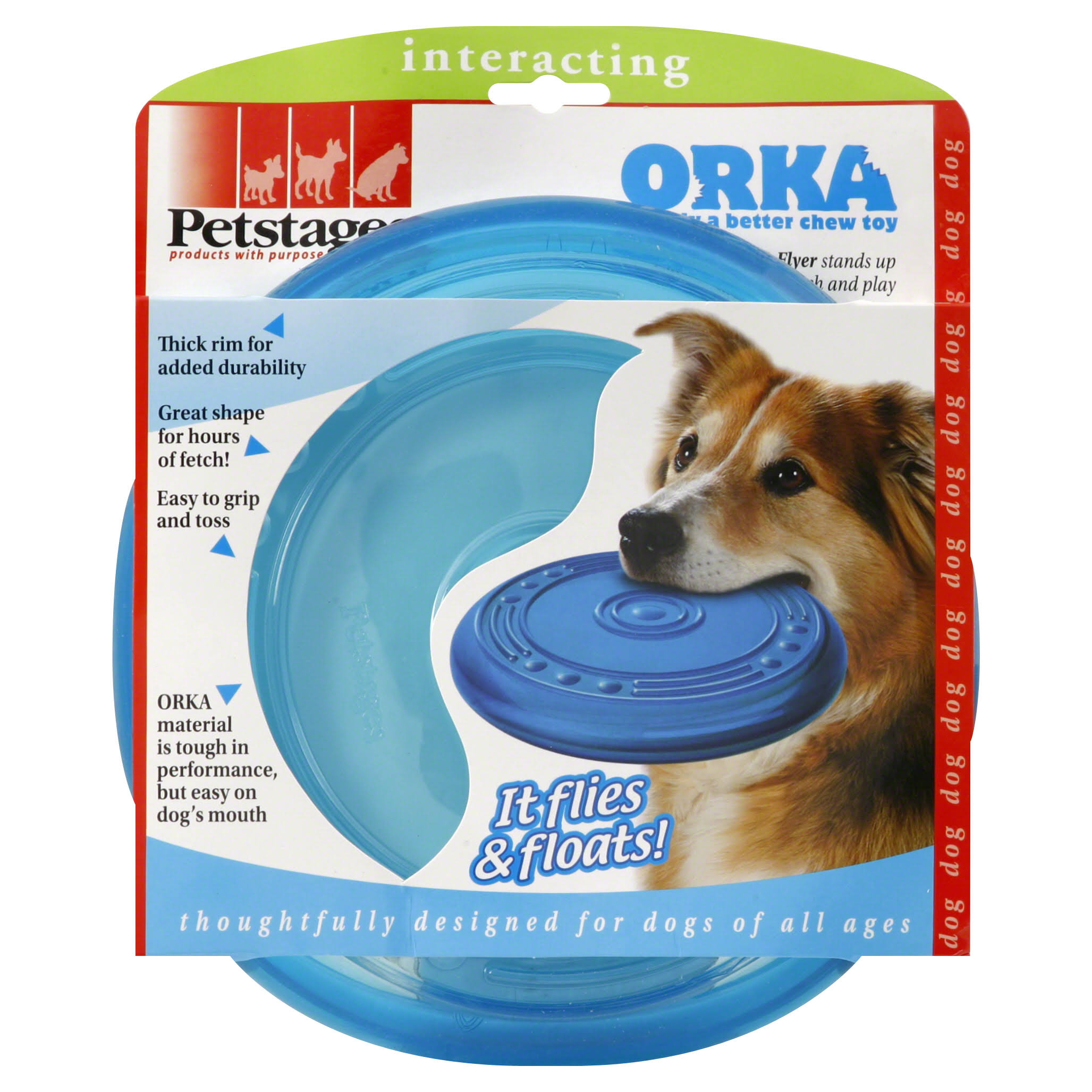 Petstages Orka Floating Flyer Dog Toy