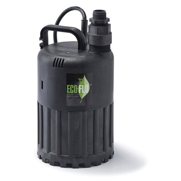 Eco-Flo Products Submersible Utility Pump - 1/2 HP