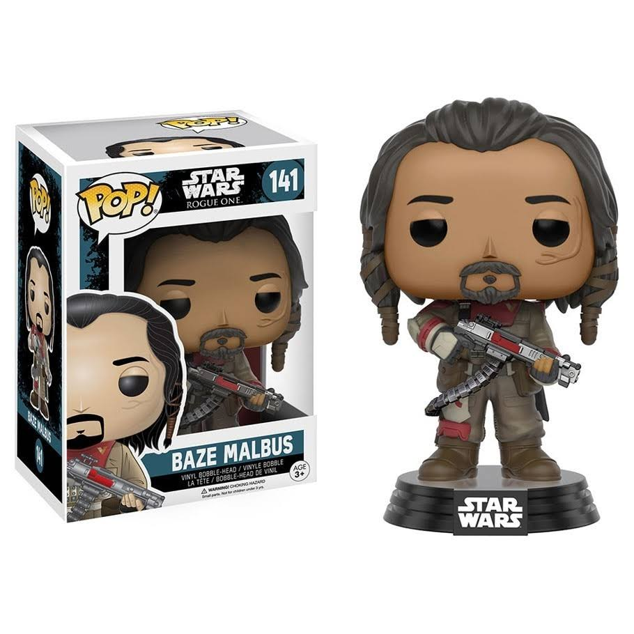 Funko Pop Star Wars Rogue One 141 Baze Malbus Vinyl Figure