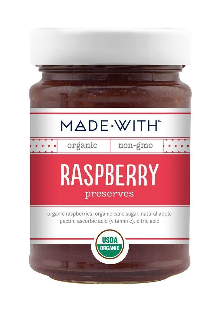 Made With Organic Preserves Raspberry - 11oz
