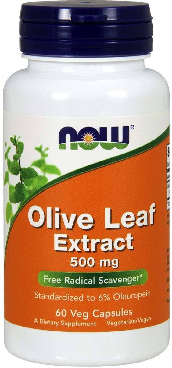 Now Olive Leaf Extract Supplement - 60 Vcaps