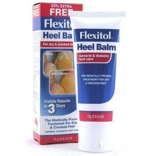 Flexitol Skin Foot Care Treatment Heel Balm - 75g