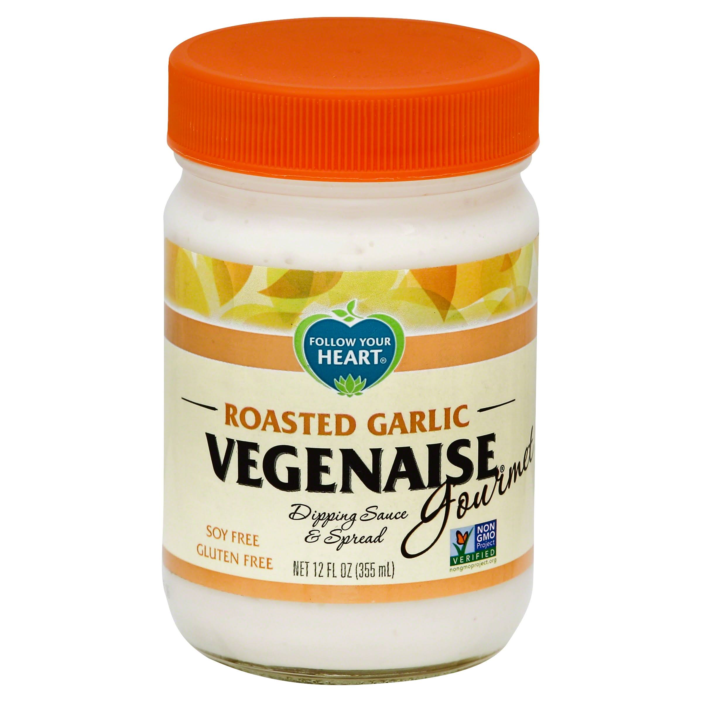 Follow Your Heart Roasted Garlic Vegenaise Dressing - 350ml