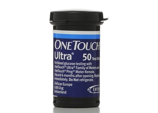 One Touch Ultra Blue Test Strips - 50 Test Strips