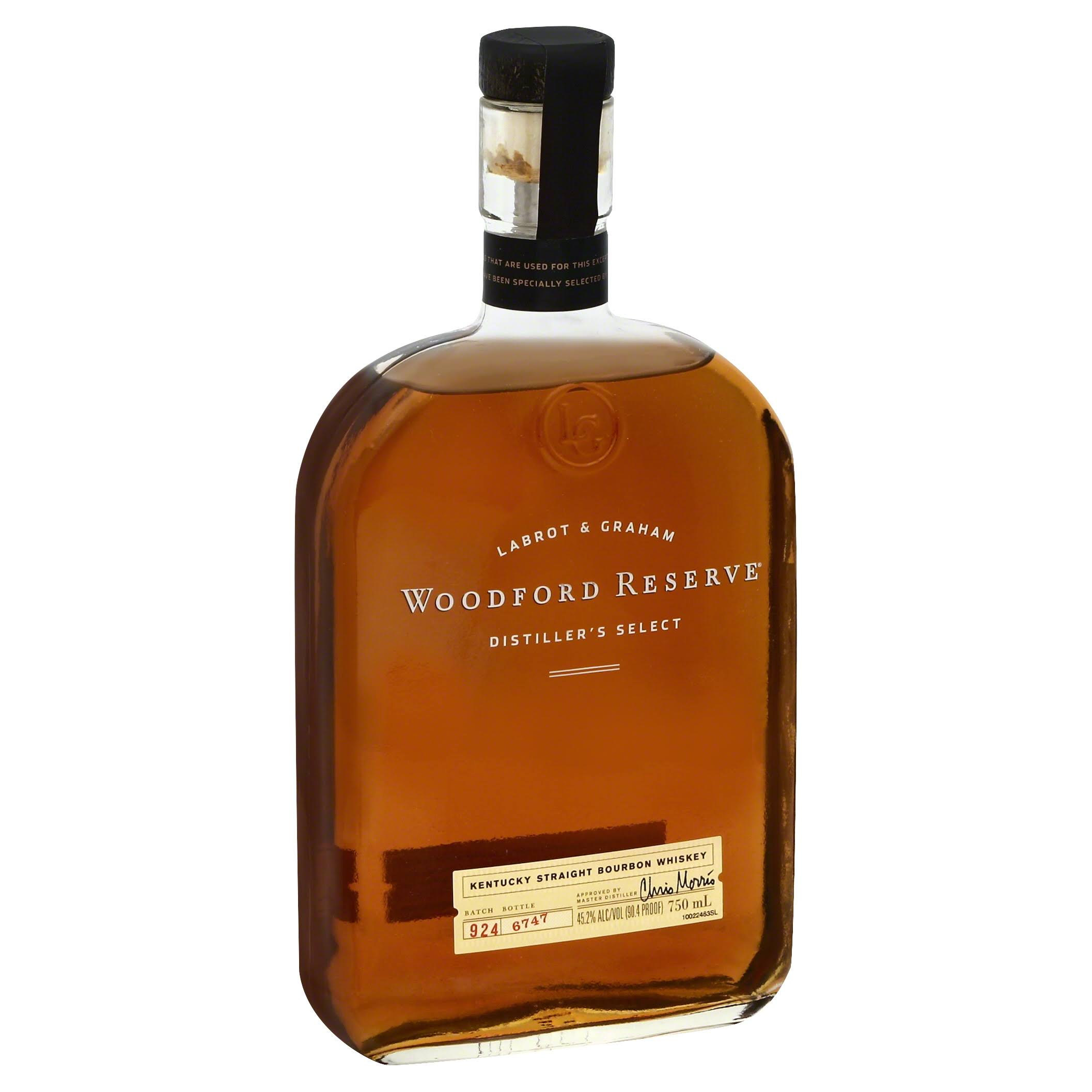 Woodford Reserve Bourbon Whiskey, Distiller's Select - 750 ml