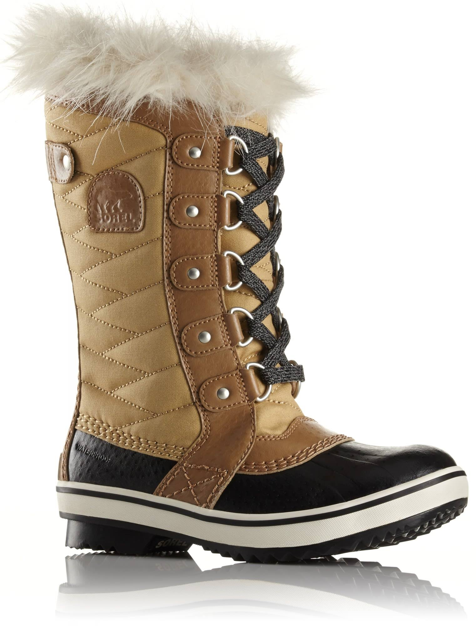 Sorel Girls Tofino II Waterproof Winter Boot - Curry, 2 US Big Kid