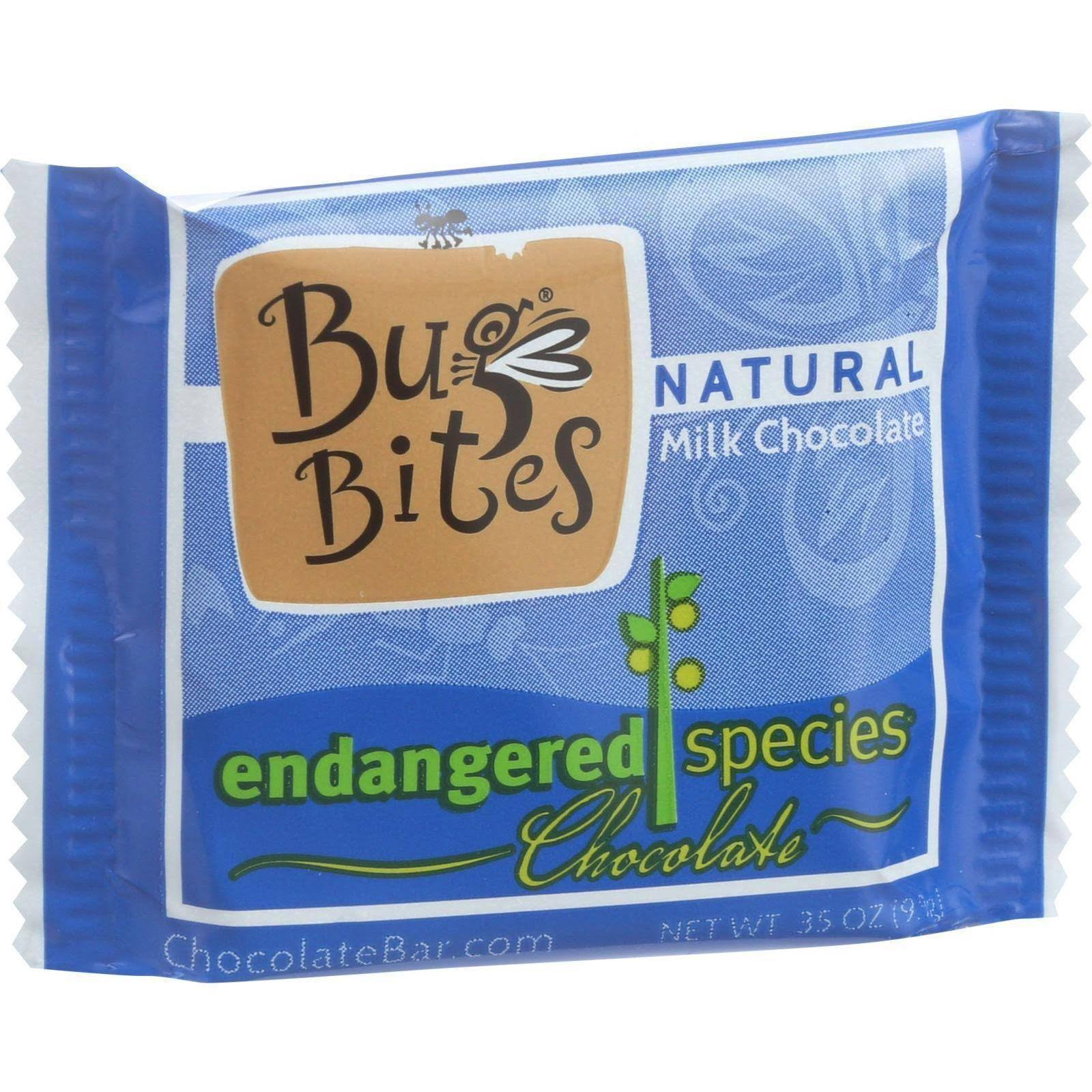 Endangered Species Bug Bites Milk Chocolate