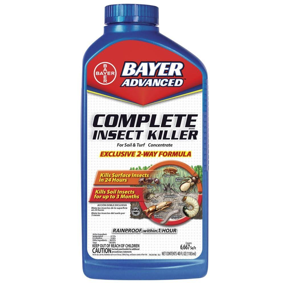 Bayer Advanced Complete Insect Killer for Soil and Turf Concentrate - 40oz