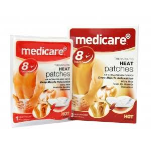 Medicare Therapeutic 8 Hour Heat Patches - x3
