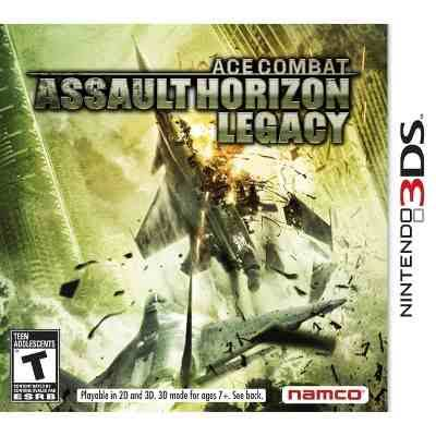 Ace Combat: Assault Horizon Legacy+ [Nintendo 3DS]