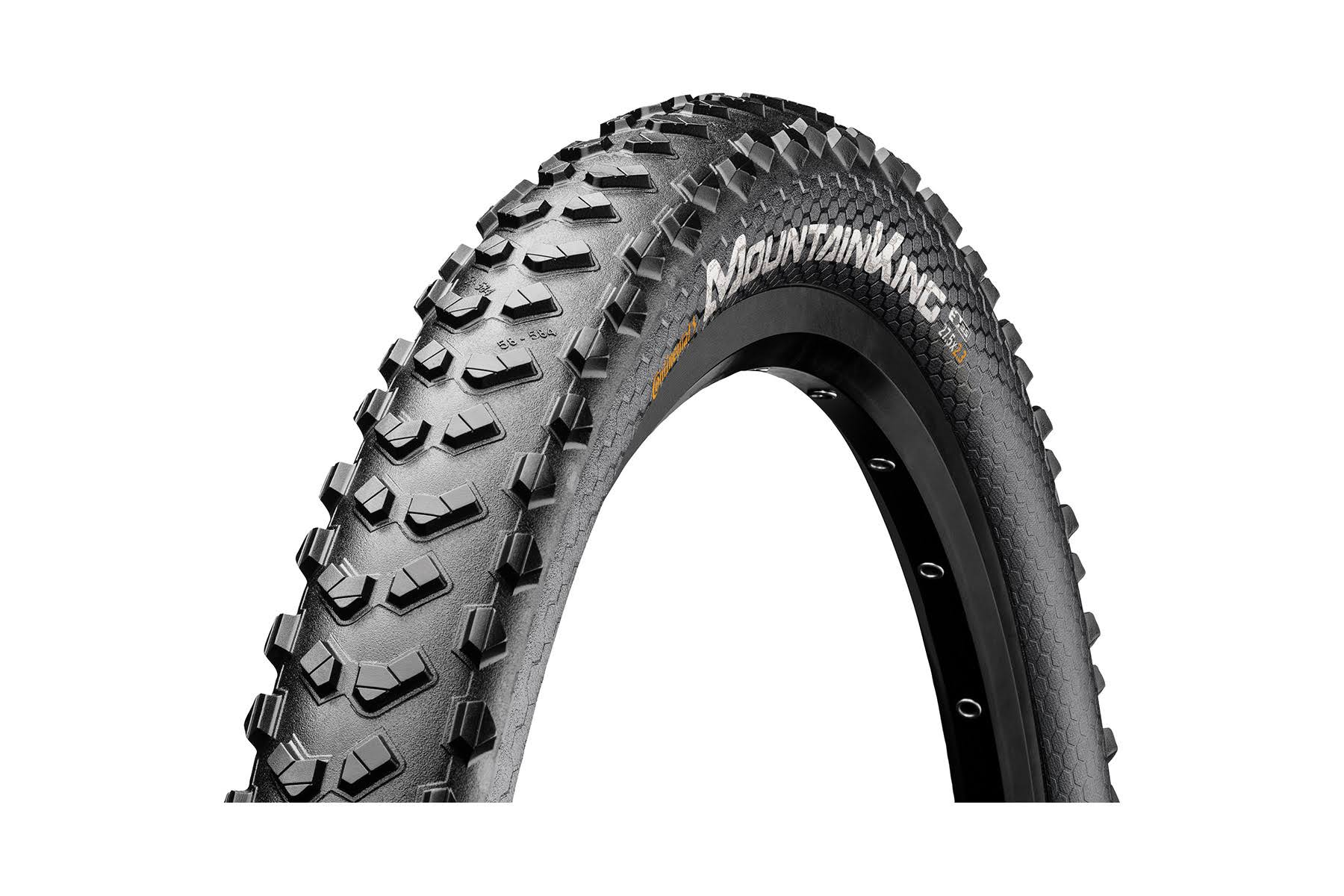 Continental Mountain King Tire - 26 x 2.3, Clincher, Wire, Black