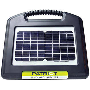 Patriot SolarGuard Fence Energizer - 0.15 Joule