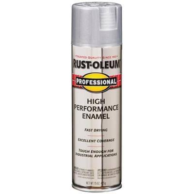 Rust-oleum Professional High Performance Enamel Spray - Aluminum, 425g