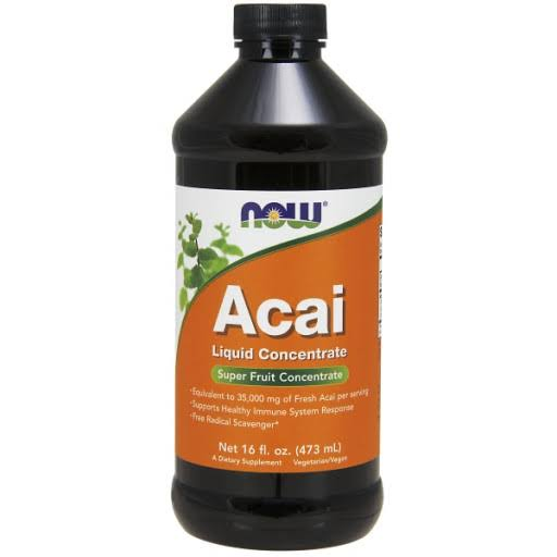 Now Foods Acai Liquid Concentrate Supplement - 16oz
