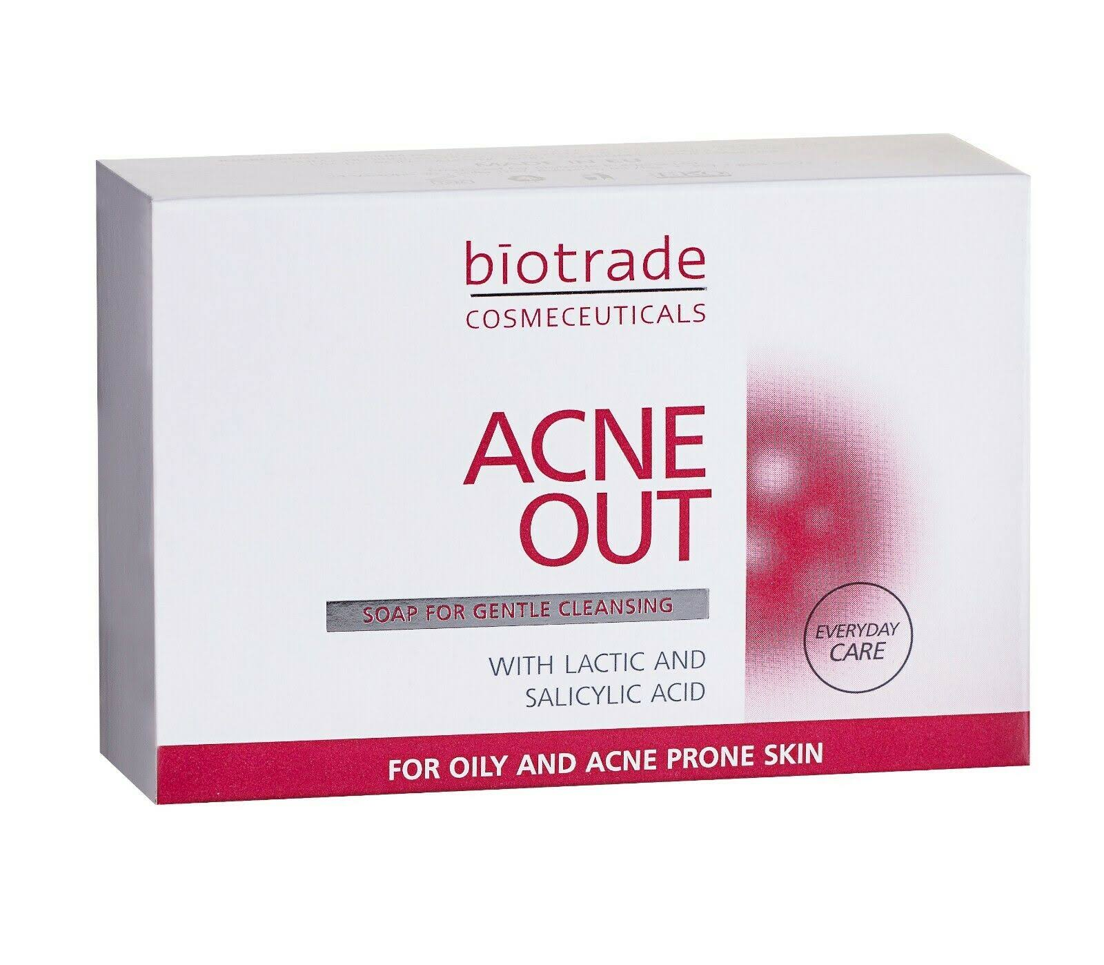Acne Out Soap - with Lactic and Salicylic Acid, 100g