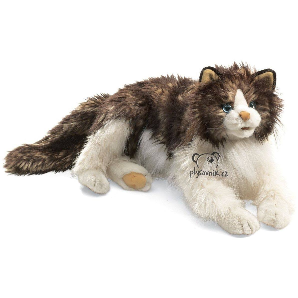 Folkmanis Puppet Stuffed Animal Ragdoll Cat