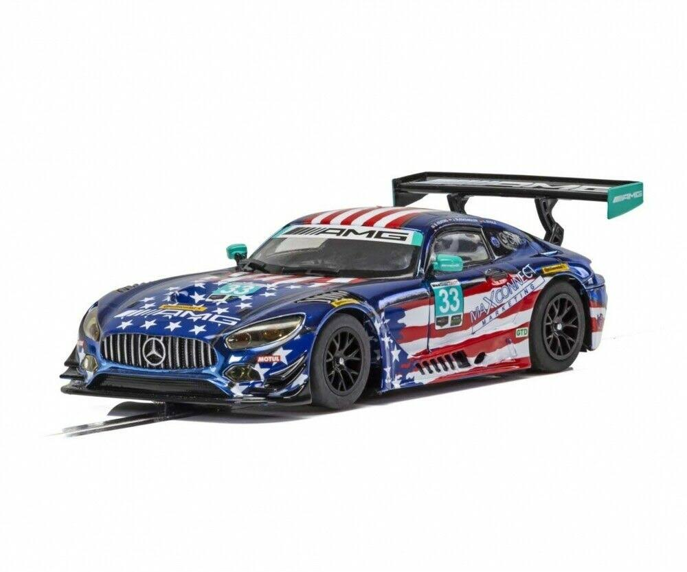 Scalextric - C4023 - Mercedes AMG GT3 - Riley Motorsports Team