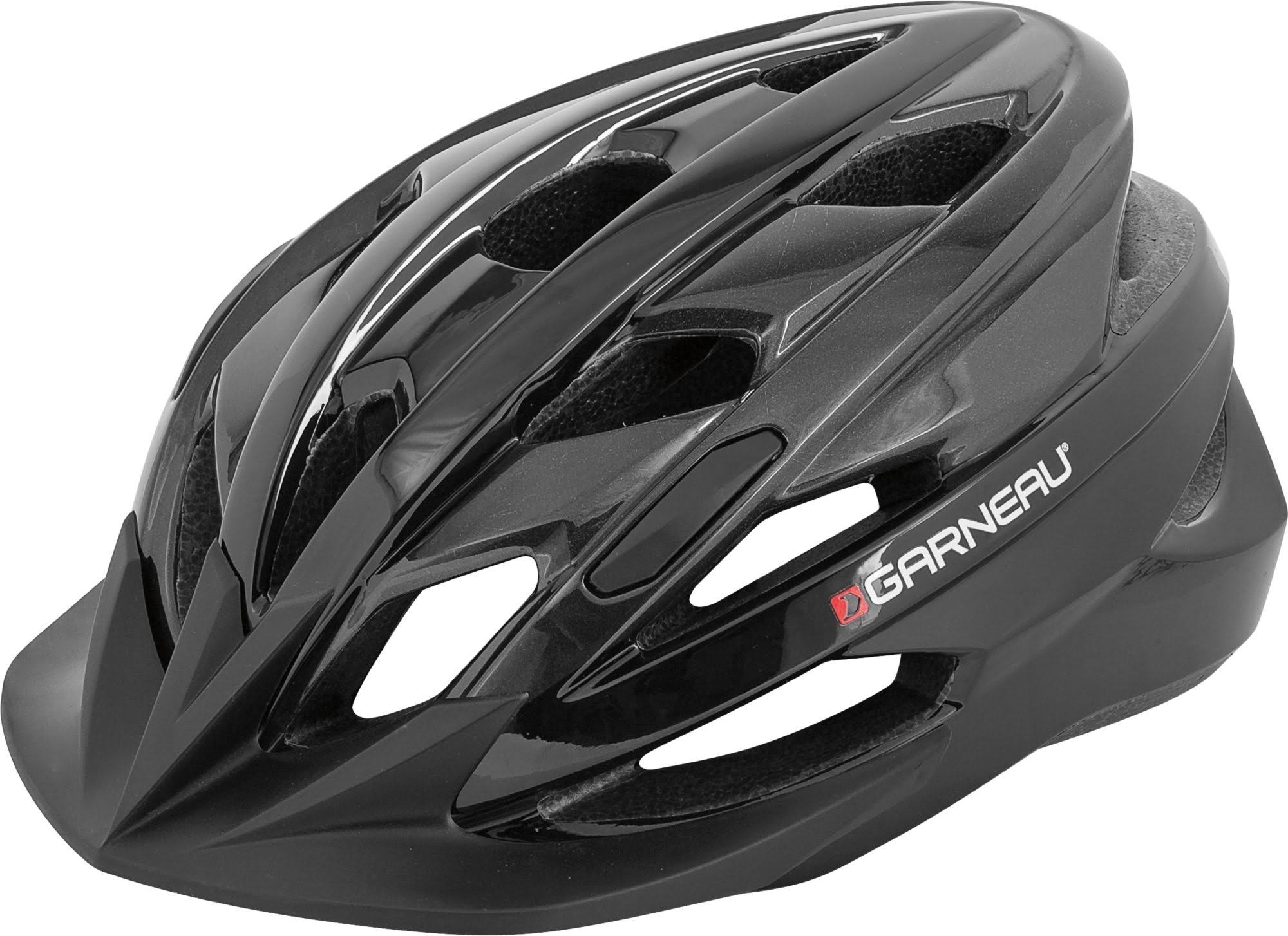 Louis Garneau HG Majestic Cycling Helmet - Black and Gray