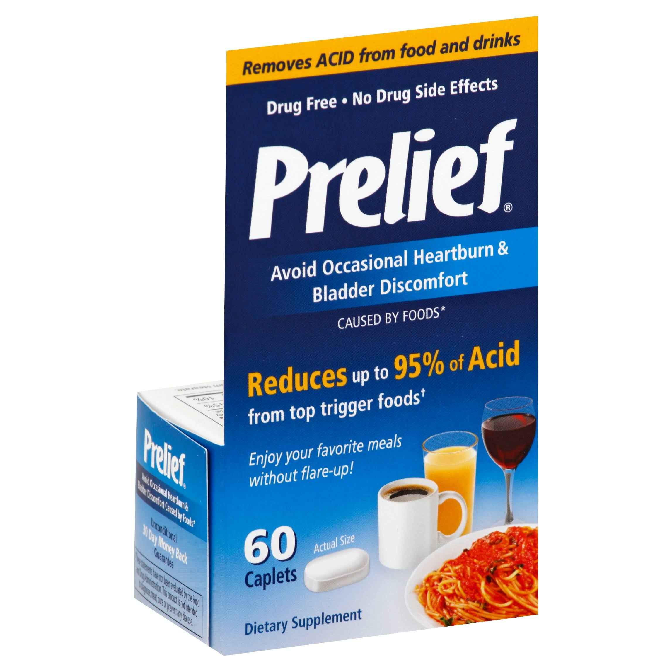 Prelief Acid Reducer Dietary Supplement Tablets - 60ct