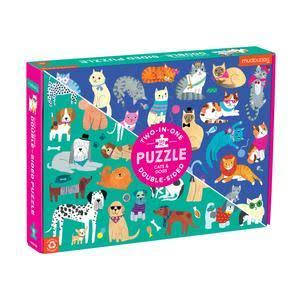 Cats and Dogs Two in One Puzzle - 100pcs