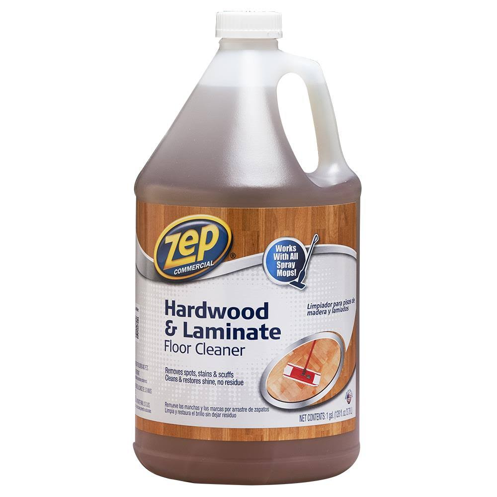 Zep Commercial Hardwood and Laminate Cleaner - 1gal