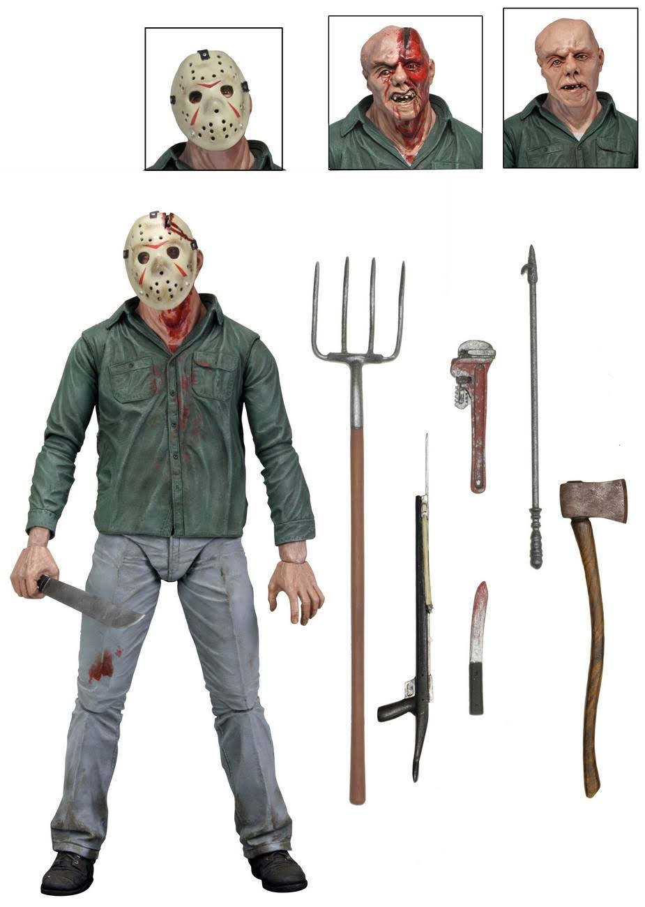 Neca Friday The 13th Part 3 Ultimate Jason Action Figure
