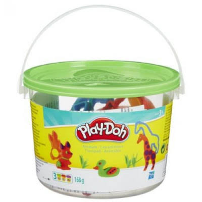 Hasbro Play-Doh Numbers Clay - 168g