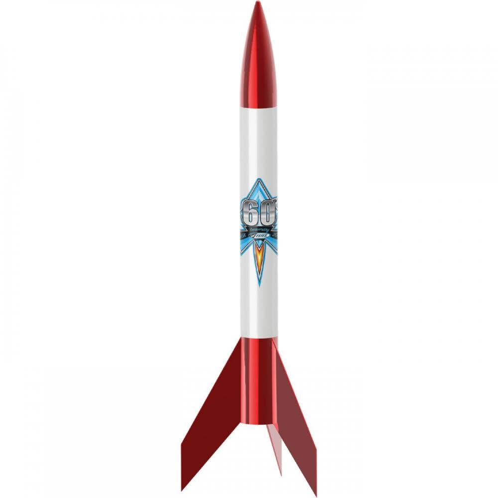 Estes Rockets 1958 Alpha Vi Estes 60Th Anniversary Model Rocket Kit