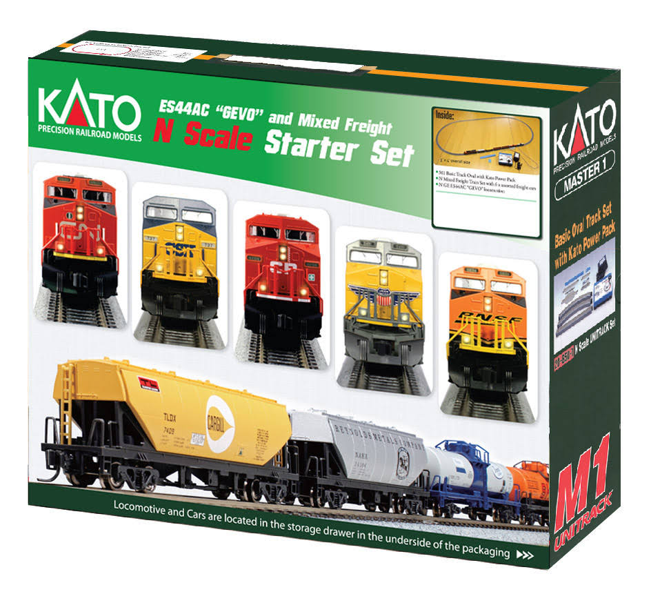 Kato Es44ac Train Starter Set