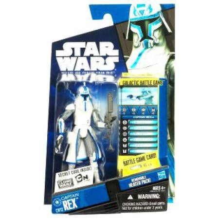 Star Wars Clone Wars Animated Action Figure - Captain Rex in Cold