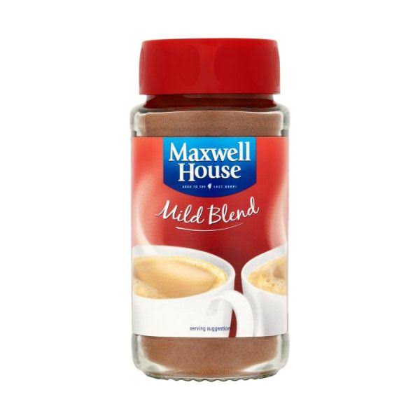 Maxwell House Instant Coffee - Mild Blend, 200g