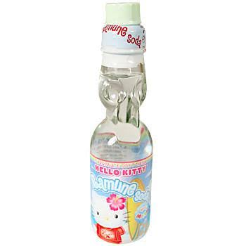 Hata Hello Kitty Ramune Soda - 6.6oz