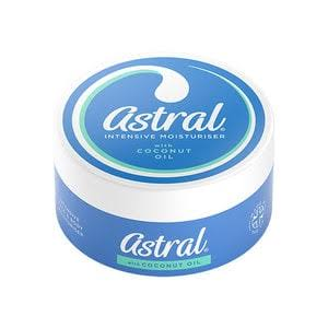 Astral Intensive Face and Body Moisturiser - with Coconut Oil, 200ml